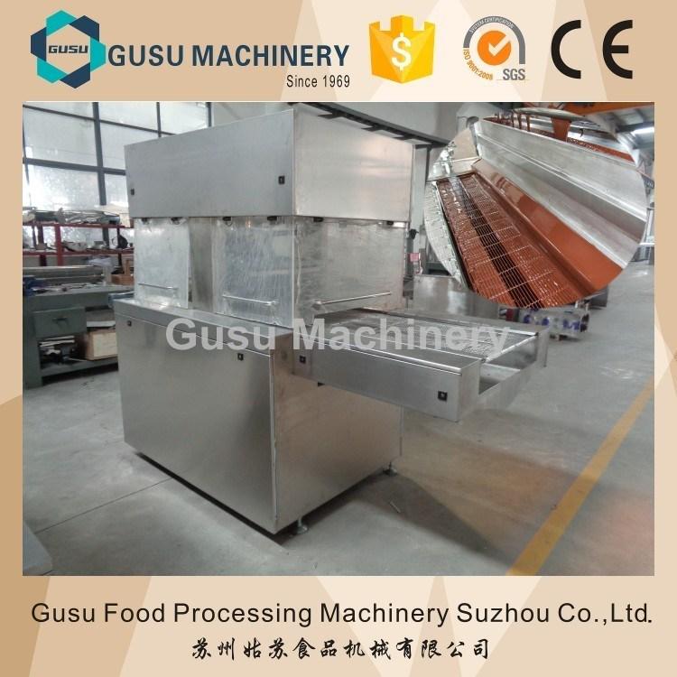 SGS Snack Food Chocolate Coating Enrober Machine Tyj 600