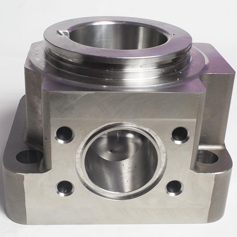 Water End Blod/ Water Pump Part/CNC Machining Parts