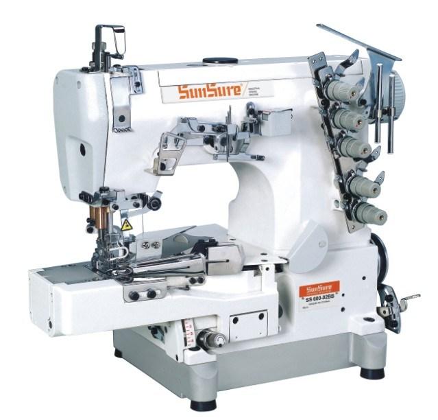 Direct Drive Super Speed Interlock Sewing Machine with Auto Trimmer