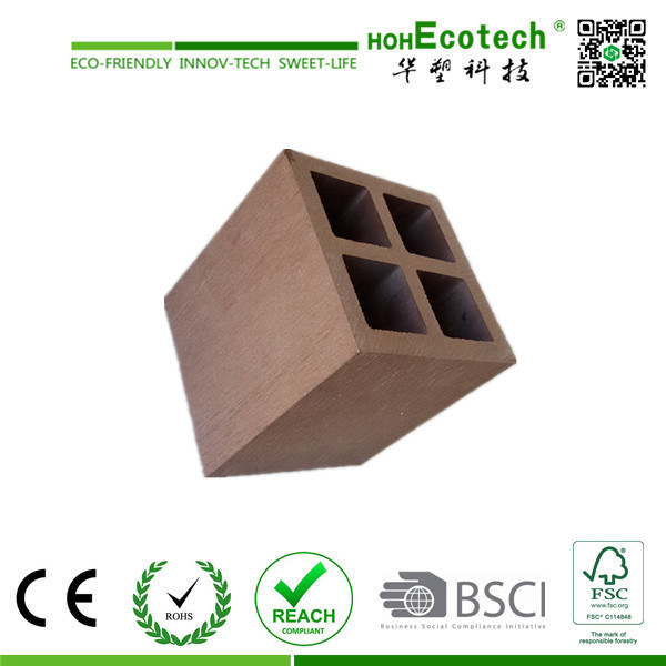 WPC Post/Wood Plastic Pergola Post/Outdoor Pergola Composite Post
