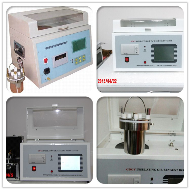 Transformer Oil Automatic Dielectric Loss Tester