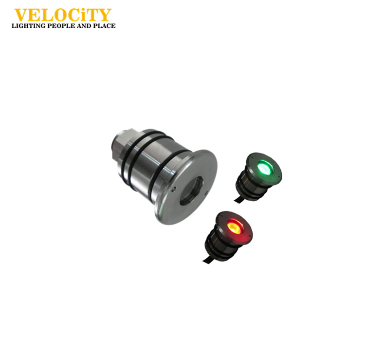 3W Multi Color IP68 LED Underwater Light for Swimming Pool with Controller
