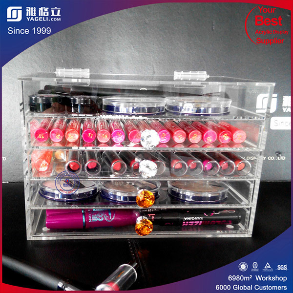 Wholesale Vanity Glam High Quality Acrylic Makeup Organizer
