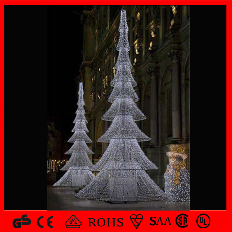 China Outdoor Decoration Newest LED Spiral Christmas Tree Light Photos ...