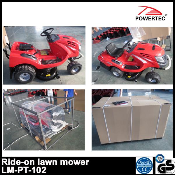 Powertec 17.5HP 102cm Ride on Gasoline Lawn Mower (LT-PT-102)