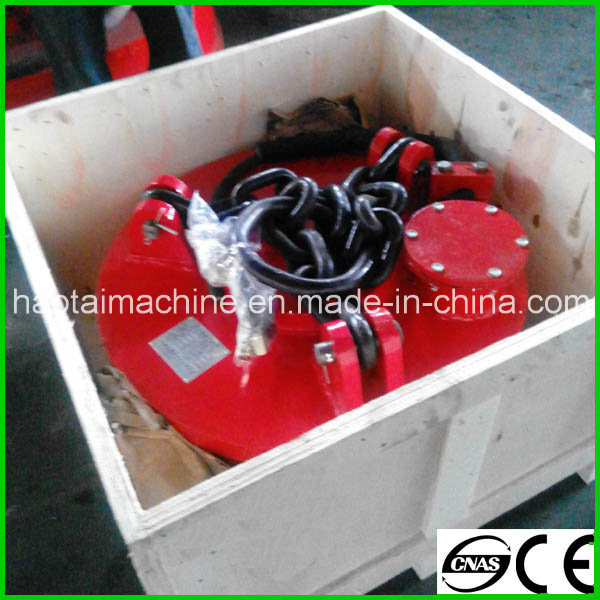 High Frequency Series Lift Magnets for Steel Scraps