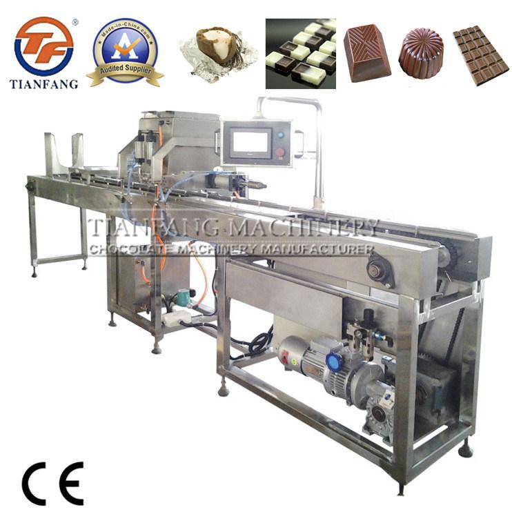 Semi-Automatic Chocolate Depositing Machine with CE Certificate