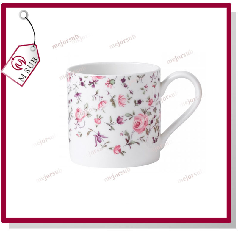 10oz Sublimation Bone China Balmoral Mug with Custom Logo