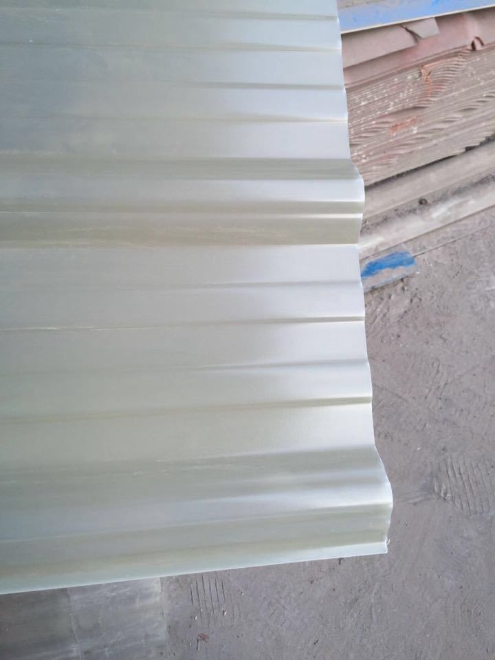 UPVC Translucent Wave Tile with Low Cost