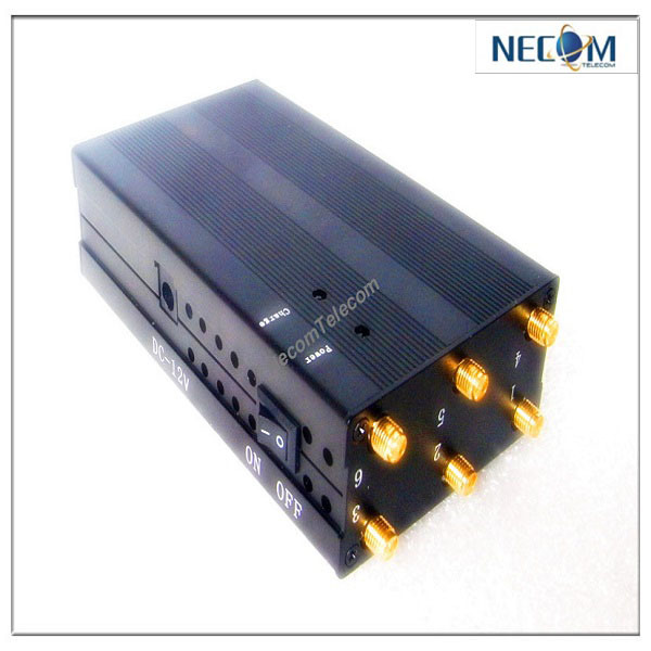 vehicle gps signal jammer yellow - Black Portable GSM CDMA Dcs Phs 3G China Portable Wireless Signal Jammer - China Portable Cellphone Jammer, GPS Lojack Cellphone Jammer/Blocker