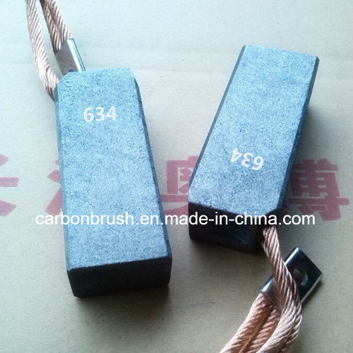 634 Natural Soft Graphite Carbon Brush for Industry Motor
