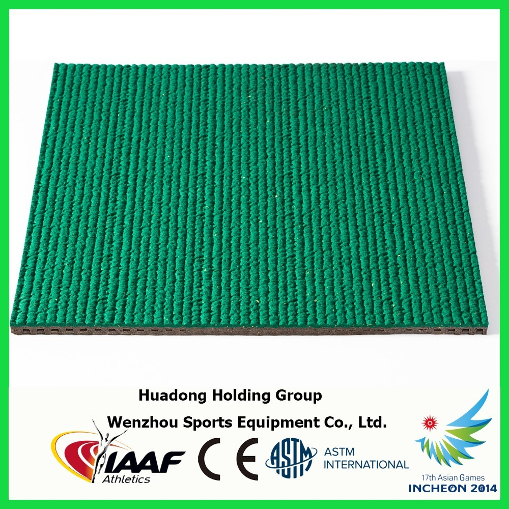13mm Outdoor Prefabricated EPDM Running Track Rubber Matting Roll
