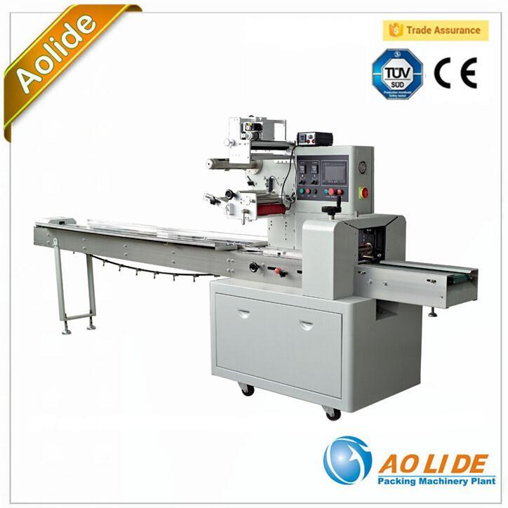 High Quality Full Automatic Fruits Film Packaging Machine Line