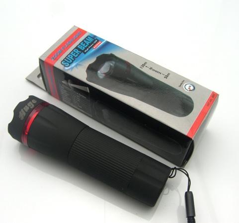 Portable 3W Plastic Shell LED Flashlight (KBL-2D)