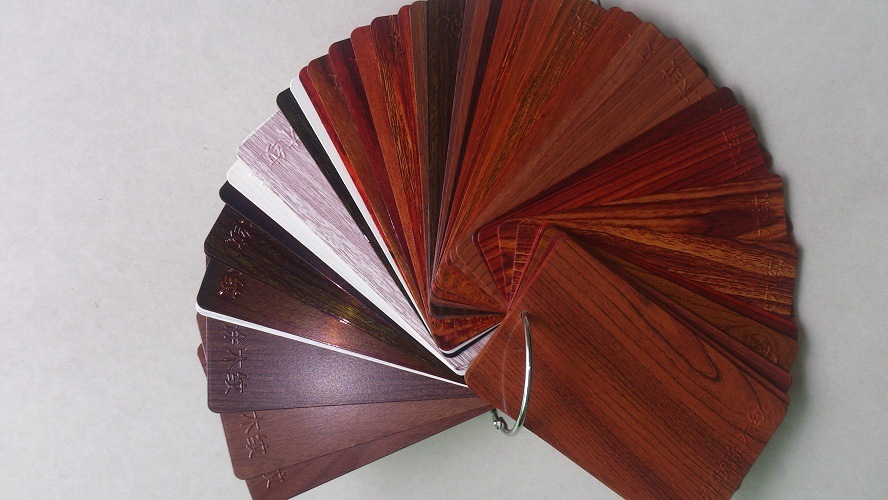 Aluminium Profiles-Wood Color for Windows and Doors