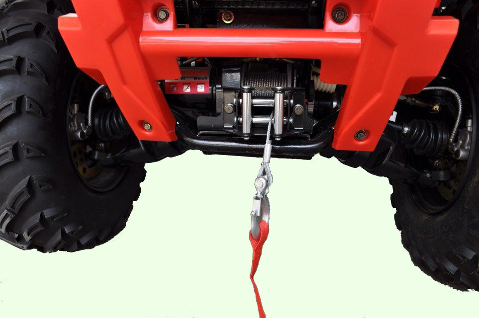 500cc Four-Stroke Shaft Drive ATV