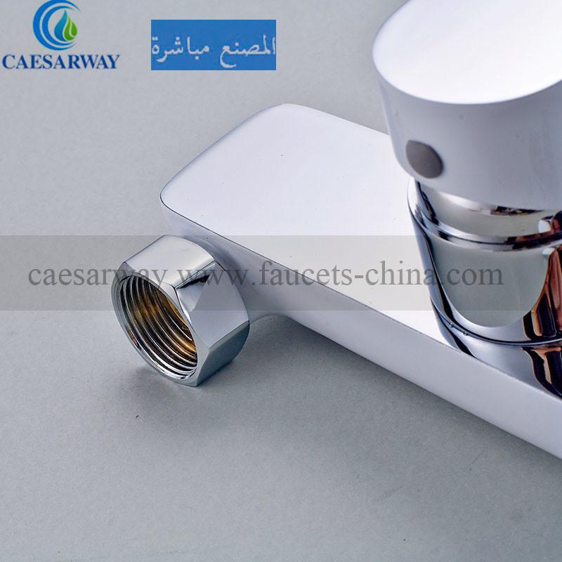 Brass Single Handle Shower Bath Mixer for Bathroom
