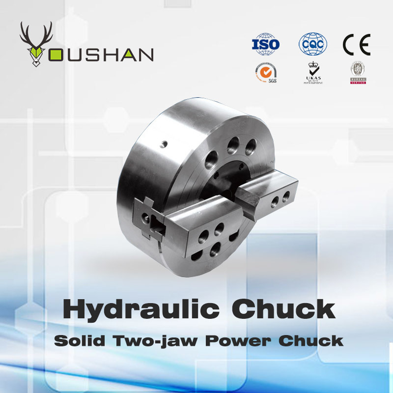 Solid Two-Jaw Power Chuck
