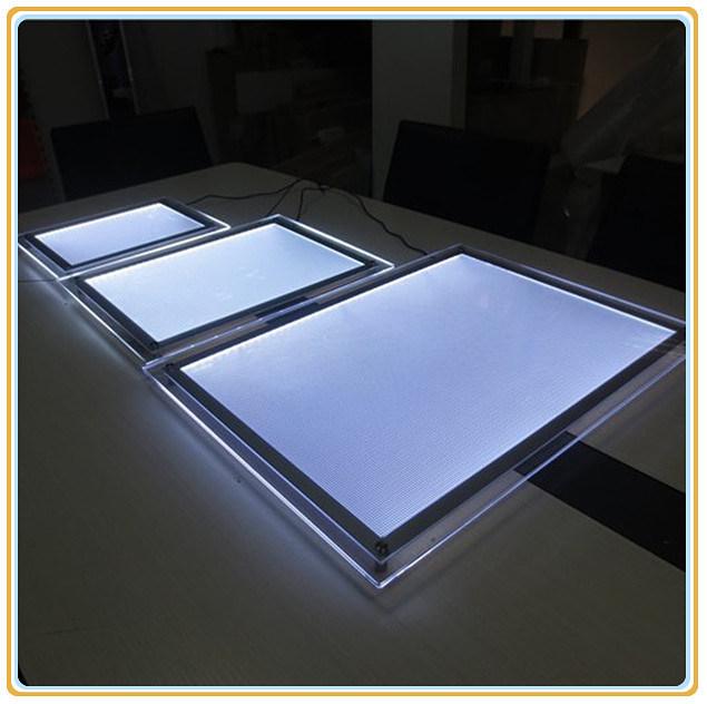 Ultra-Thin A3 Crystal LED Light Box