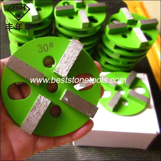 CD-49 HTC Diamond Metal Bond Floor Grinding Pad for Concrete