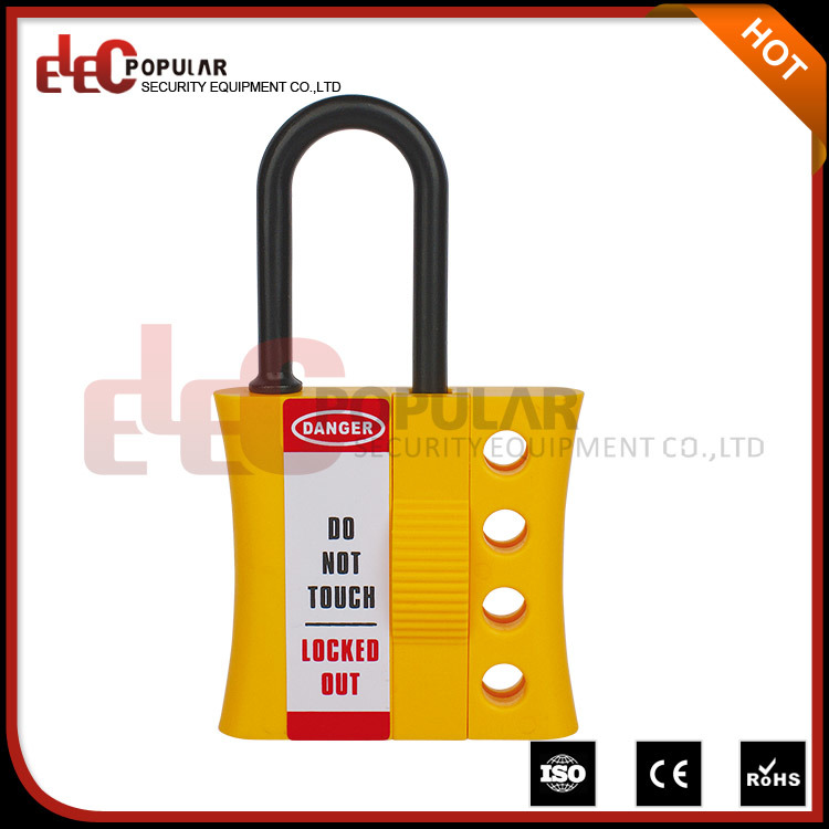 Compact Big Diameter Non-Conductive Lockout Hasp