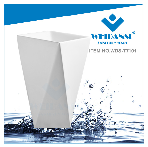 Weidansi Ceramic Wash Pedestal Basin Wash Sink (WDS-P7101)