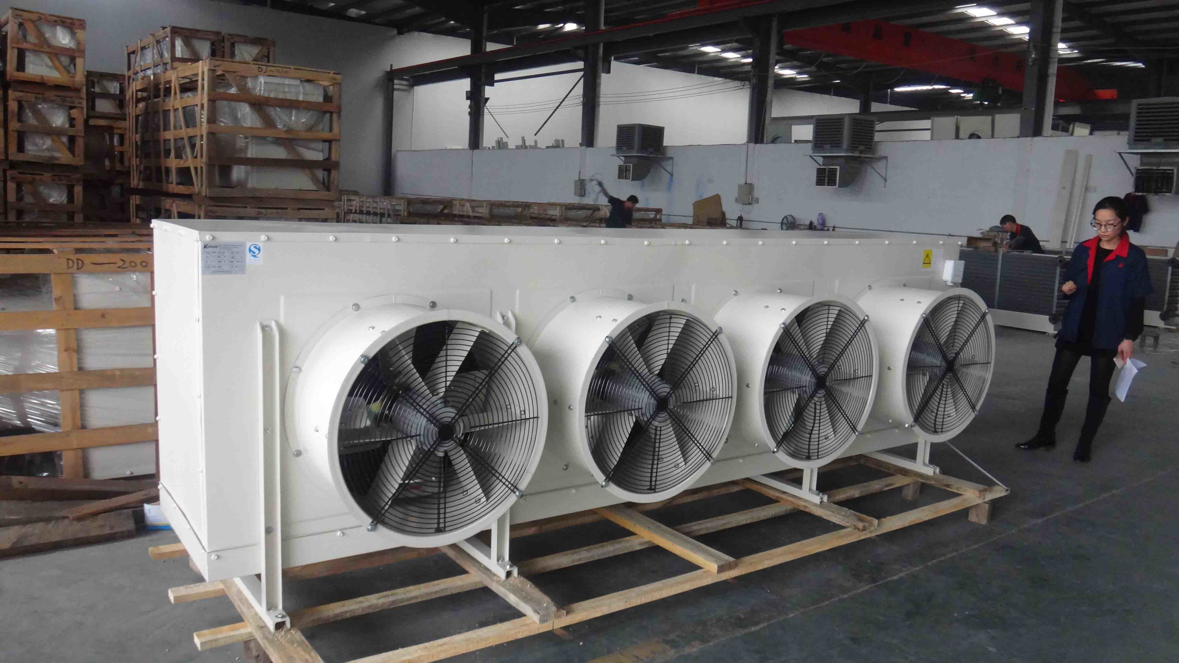 China Hot Sale DJ Series Air Cooler Evaporator for Freezer Room