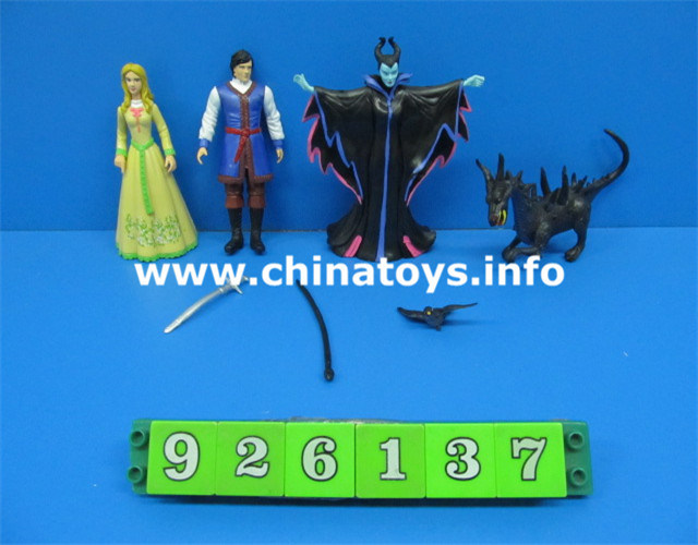 Maleficent Doll, Girl′s Toy, PVC Doll Toys (4ass) (926137)