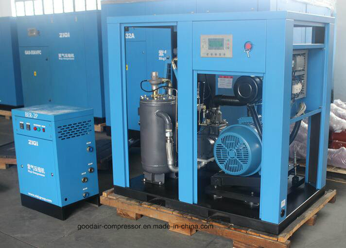 37kw Water Cooling Screw Air Compressor