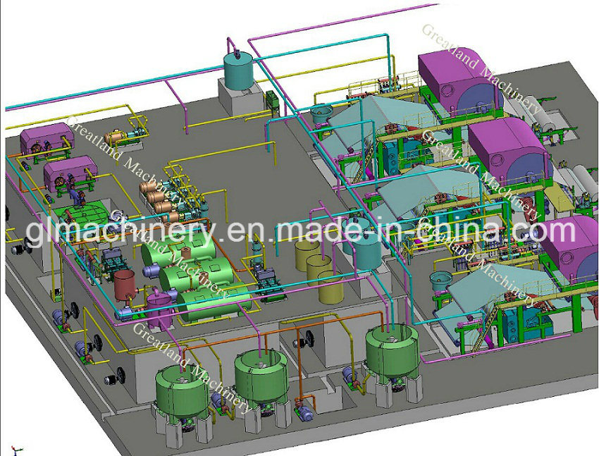 High Standard Tissue Paper Machine Project Turnkey Service