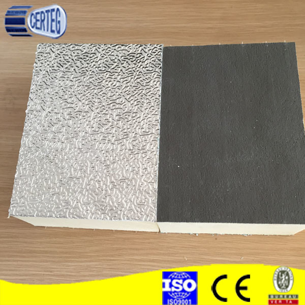 AL foils HVAC PU Air Duct Panel