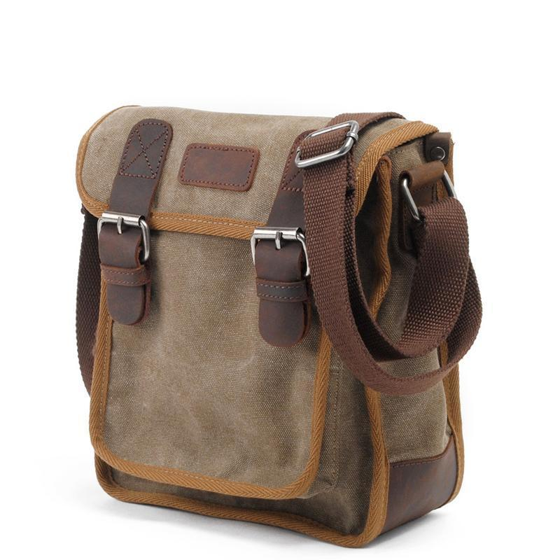 China Casual Canvas Bag Canvas Leisure Small Canvas Messenger ...