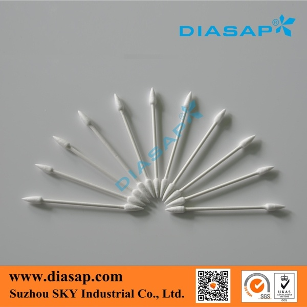Cleanroom Cotton Swabs for Cleaning Optics Lens with RoHS