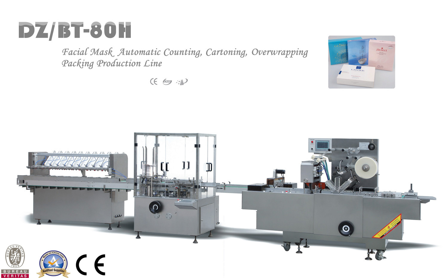 Dz/Bt-80h High Speed Automatic Cartoning Machine