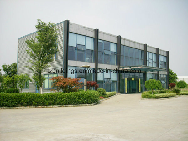 Prefab Steel Frame Modern Office Building