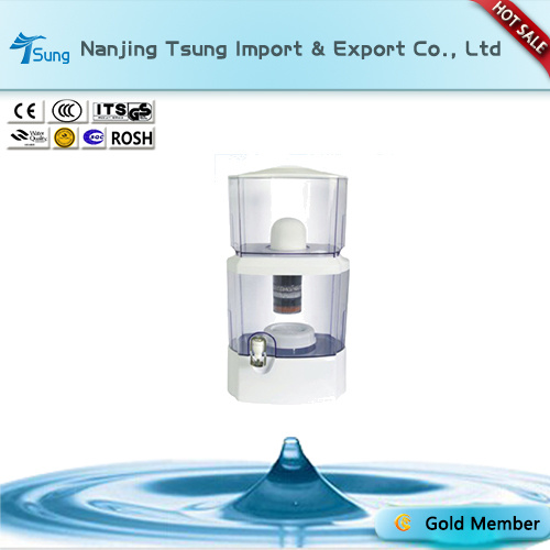24L White Mineral Water Purifier Pot Ty-24G-1