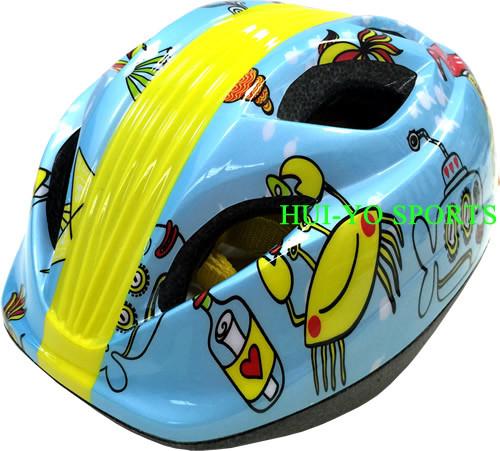 Glue-on Kid Helmet, Reflective Kid Helmet, Bike Helmet, Traffic Sign