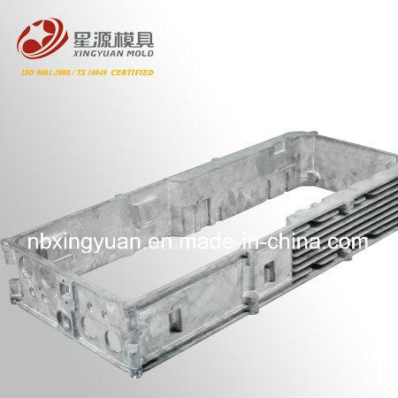Alcatel Brand Magnesium Az91d Heatsink Die Casting Heat Sink
