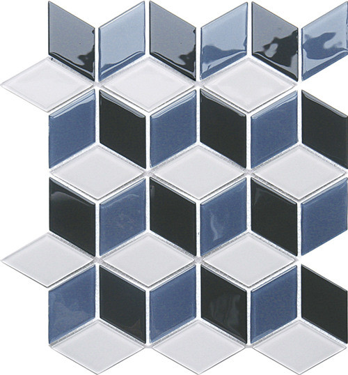 Specail Shape Series Glass Mosaic for Bathroom