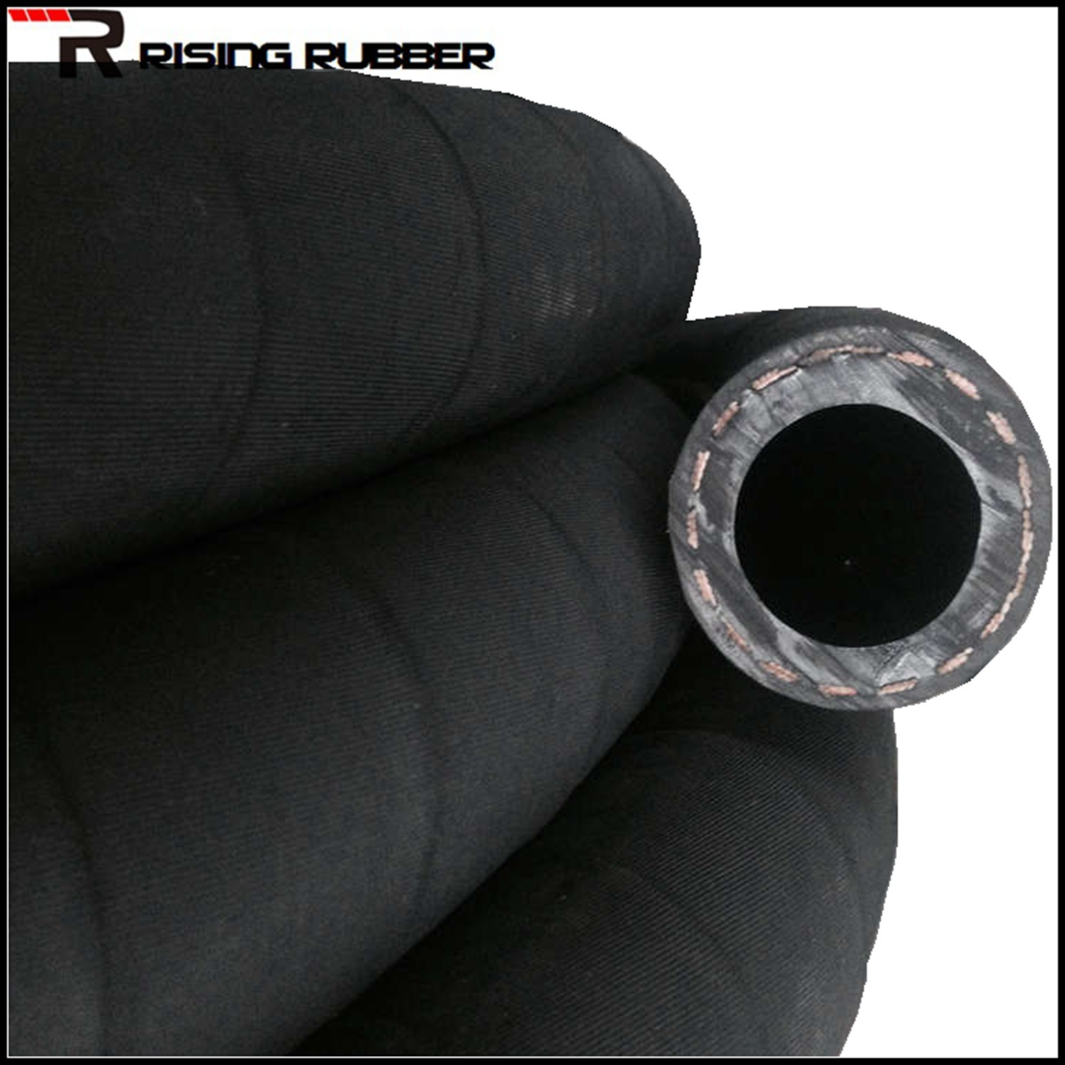 High Pressure Textile Reinforced Air Rubber Hose