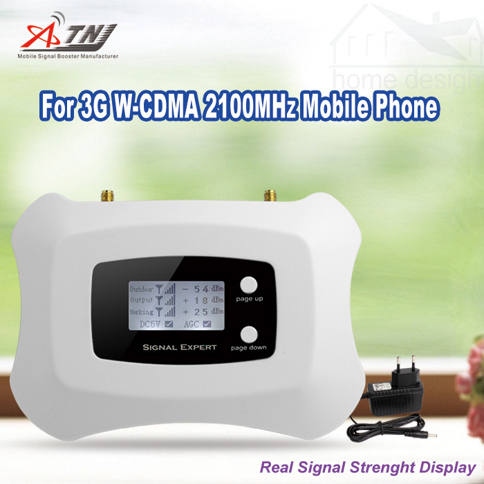 2100MHz Mobile Signal Repeater 3G Signal Booster UMTS 3G Signal Amplifier