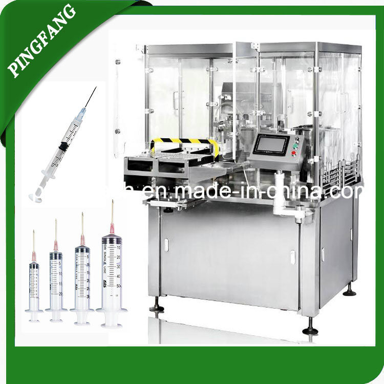 Gzs50-2n Prefillable Syringes Filling & Stoppering Machine
