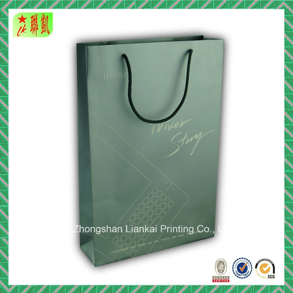 Printed Shopping Paper Bag for Clothing