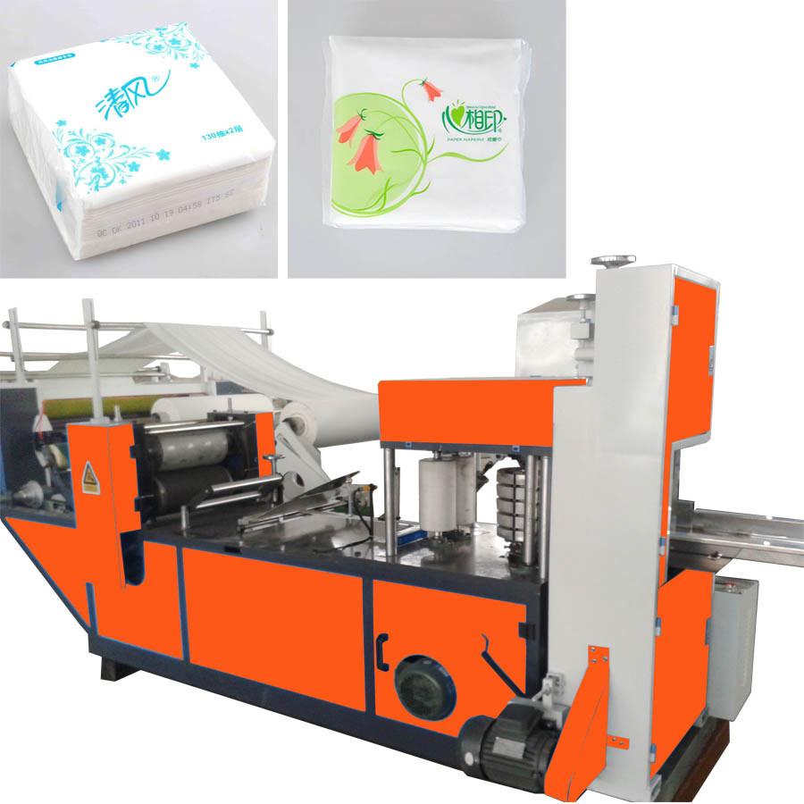 Color printing paper - 2 Color Printing Paper Napkin Machine