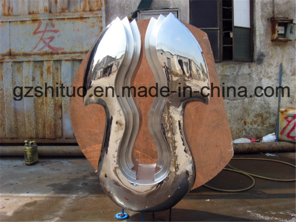 Outdoor Garden and Interior Decoration of The Stainless Steel Sculpture