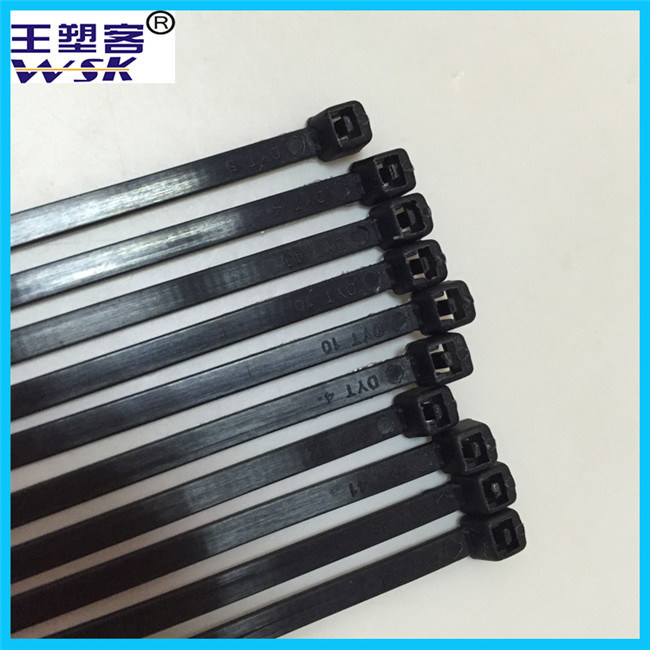 Zhejiang Nylon Cable Tie Manufacture Wholesale 21cm One Time Use Cable Tie