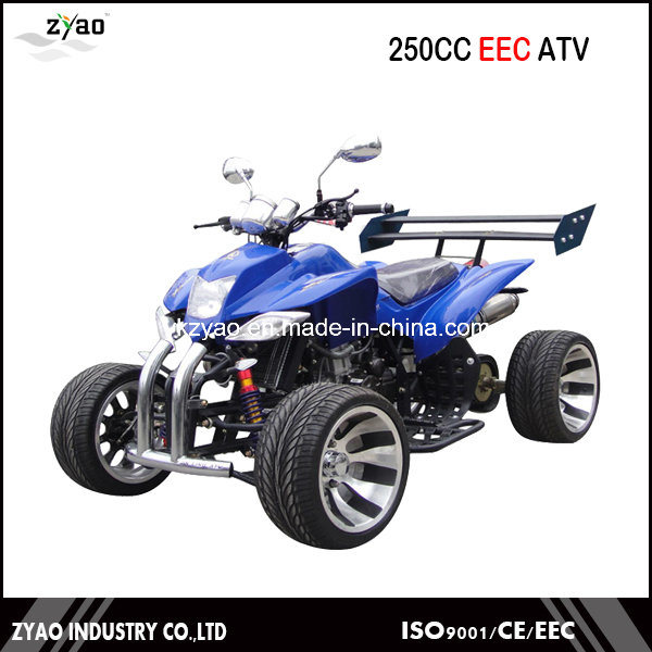 250cc Water Cooled EEC Racing Quad with 12inch Alloy Wheel Semi-Automatic CVT