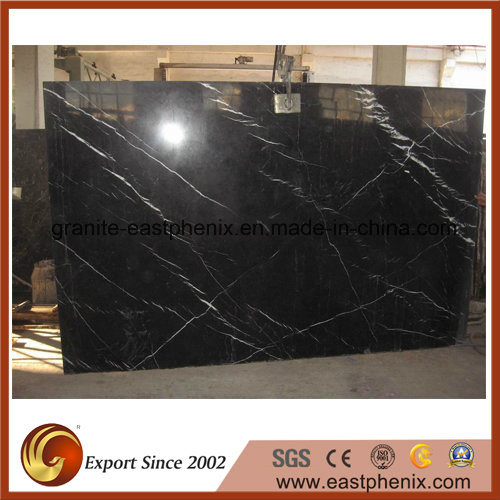 Nero Marquina Black Marble for Flooring/Wall/Bathroom Tile