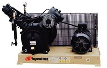 Ingersoll Rand High Pressure Piston Compressor; Reciprocating Compressor (40T2XB40/40 PA-15/30-FF)