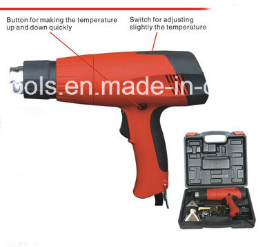 50-600 Temperature 3 Step Heat Gun /Hot Air Gun 1800W 7981u